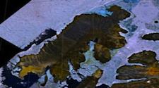 mould Bay satellite shot