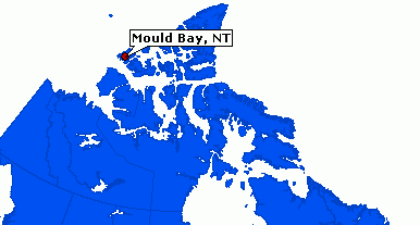 Mould Bay Map