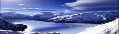 Arctic Snowy Fiord